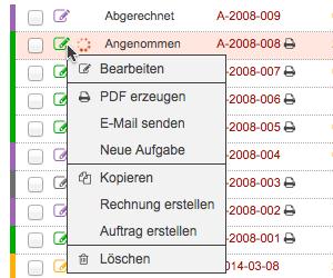 Kontextmenü-Icon